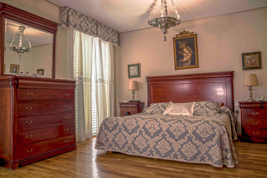 Dormitorio de matrinonio.